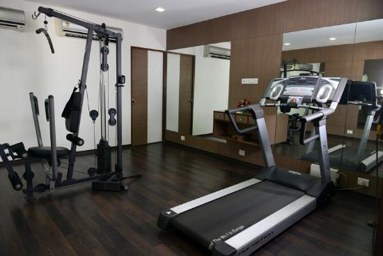 The Lotus Serviced Apartments : Fitness centre