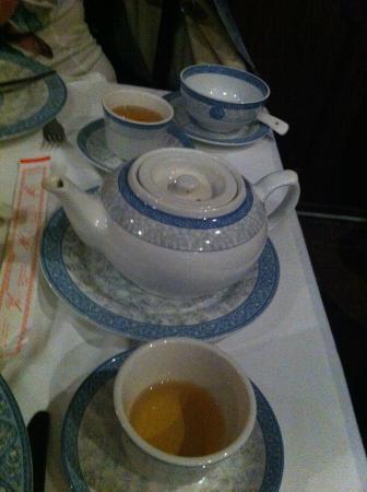 Fu-Hua: Comida chinesa é para acompanhar com chá .... sempre