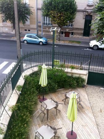 La Villa Saint Pierre: View from room 3