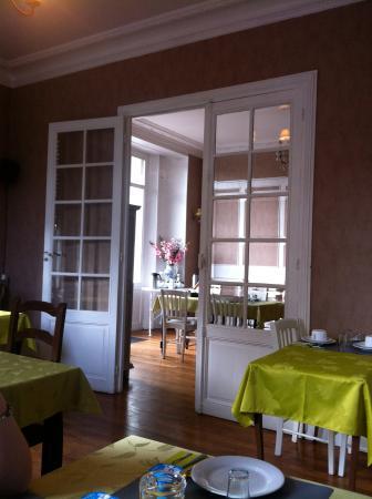 La Villa Saint Pierre: The breakfast rooms
