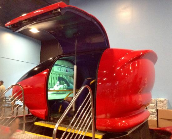 space shuttle simulator ride - photo #9