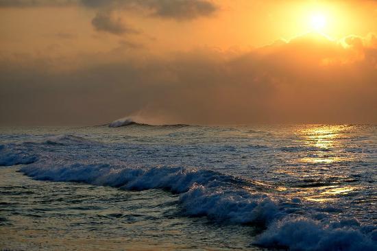 Zinkwazi Beach: After sunrise