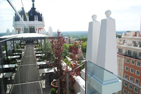 Sky Lounge Picture Of Dear Hotel Madrid Madrid