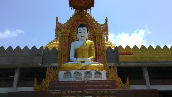 Global Vipassana Pagoda - Lord Budhha