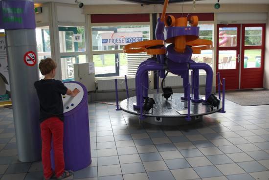 Sexbierum, Nederland: Robot Aeolus
