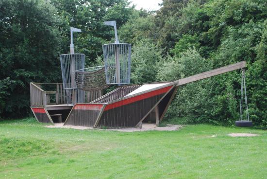 Sexbierum, Nederland: outdoor playground Aeolus