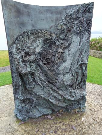 Moelfre, UK: Sea Sculpture