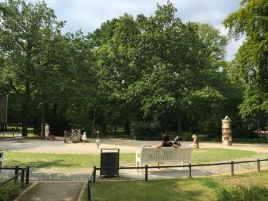 Kurpark Warnemünde: Park
