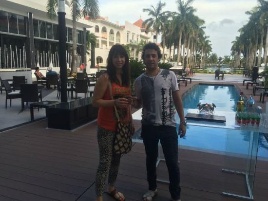 Hotel Riu Palace Mexico: vista desde  afuera