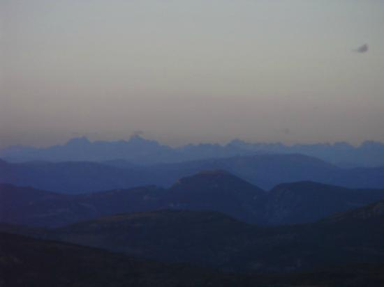 Camping du Mont Serein : Panoramablick