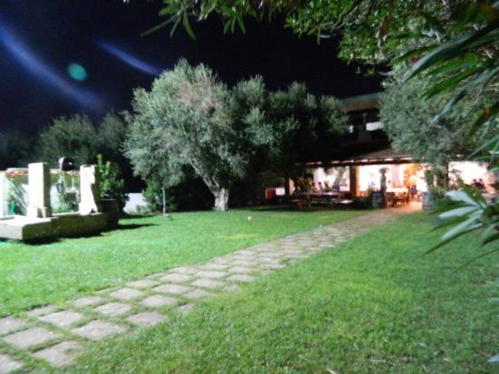 Agriturismo L'Aia Restaurant: Ingresso nel verde