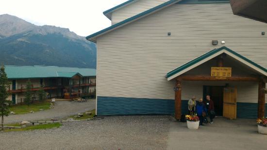 two blocks of accommodation