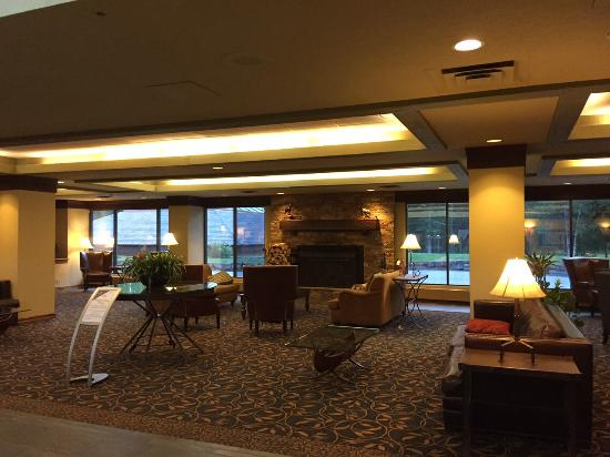 Lobby Area  Picture of Delta Hotels by Marriott Kananaskis Lodge