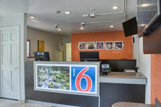 Motel 6 Seattle South: Lobby