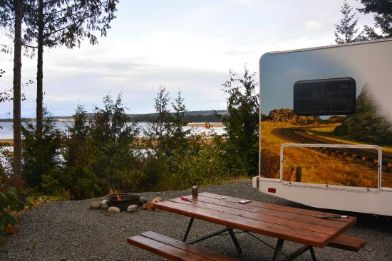 Ok But Seasonal Services Review Of Living Forest Oceanside Campground Rv Nanaimo Tripadvisor