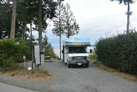 site view picture of living forest oceanside campground. Black Bedroom Furniture Sets. Home Design Ideas