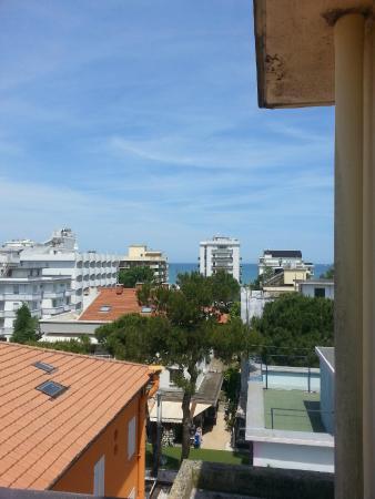 Hotel San Leo: vista dalla camera