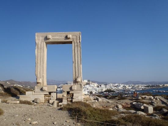 Náxos, Griekenland: the Portara