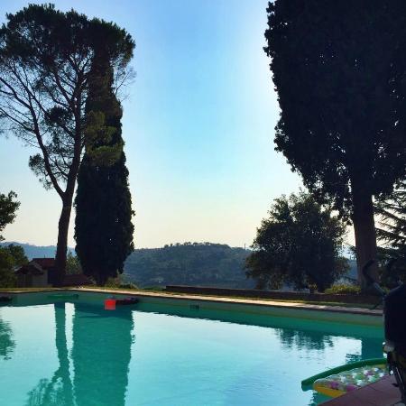 Villa Rossi-Mattei: pool