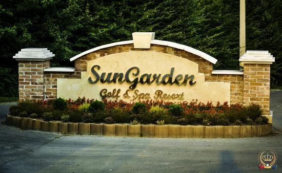 sun garden resort signalistica de la intrare - Sun Garden