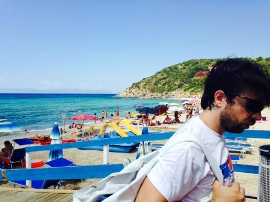 Geremeas, Italia: Su Pistilloni, il chiosco della spiaggia di Kal'e Moru