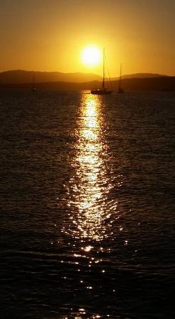 Aldo Bed & Breakfast Arzachena: Il tramonto sul mare