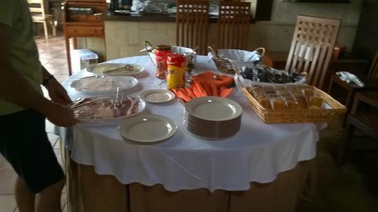 Casa De Labranza Ria De Castellanos: petit déj au bout du 4ème jour
