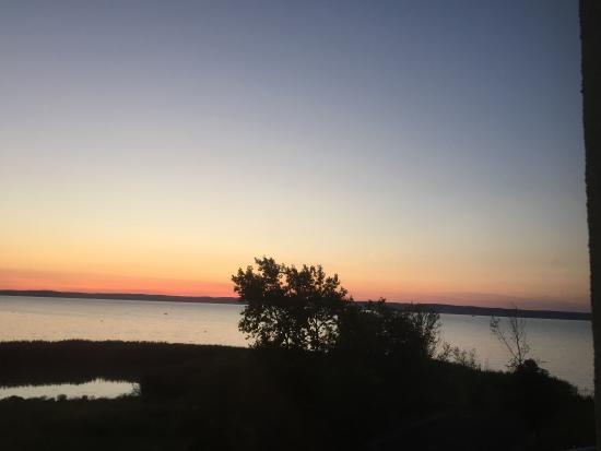 Hotel Azur: Sunset