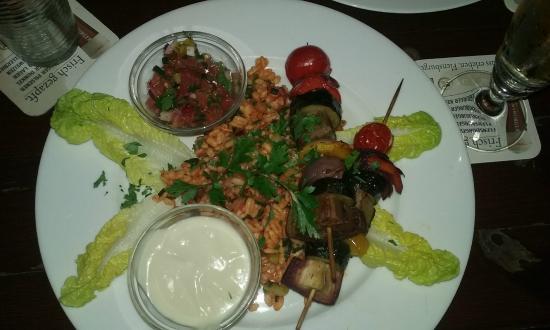 Viasko: Gemüse Schaschlik