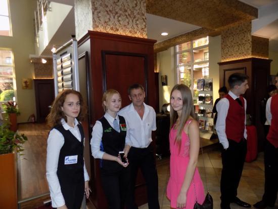 Caro Golf Hotel: Холл главный вход - ресипшн