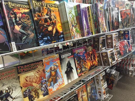 Harrison's Comics