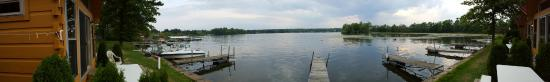 Edinboro Lake Resort panoramic view from cabin