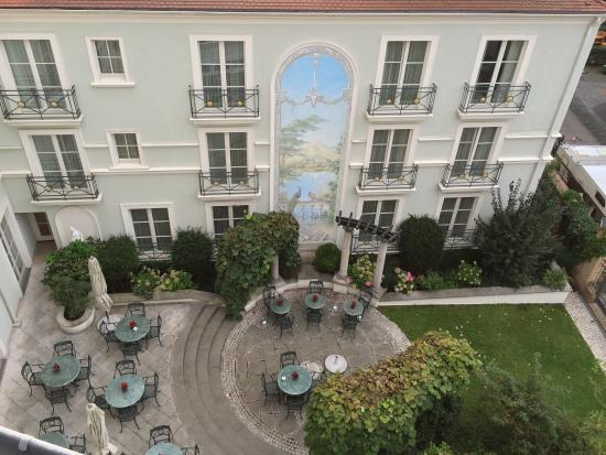 Romantik Hotel Am Jagertor Potsdam: Traumhafter Innenhof