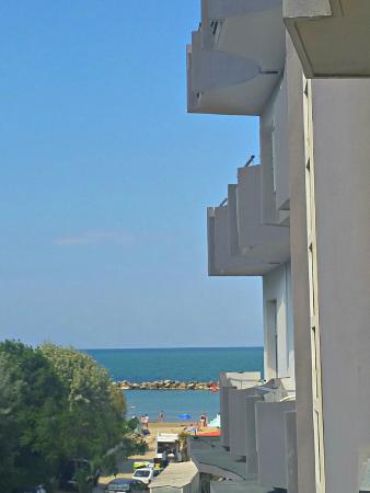 Hotel Merkury : Vista dalla camera