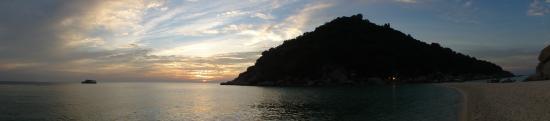 Ko Nang Yuan, Tailandia: Sun Going Down