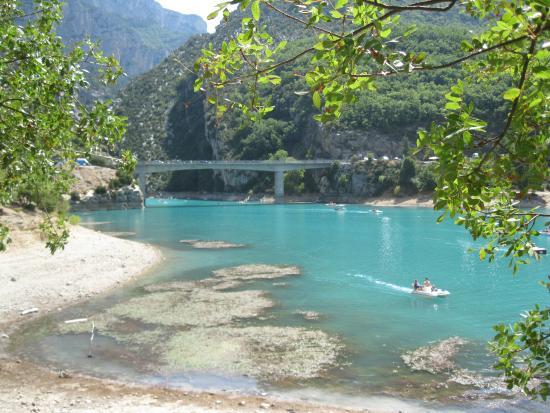 Lago di sainte croix picture of camping sandaya le for Camping sainte croix du verdon avec piscine