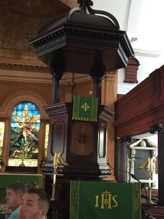 Charleston Footprints Walking Tours: Inside St Michael's ...