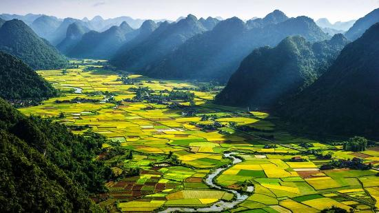 Vinh, Vietnam: Bac Son valley