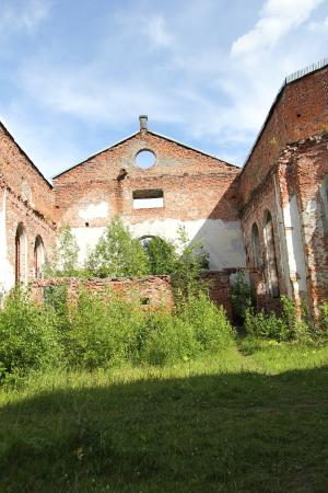 Ruins of Lutheran Church of Yakkim's Parish
