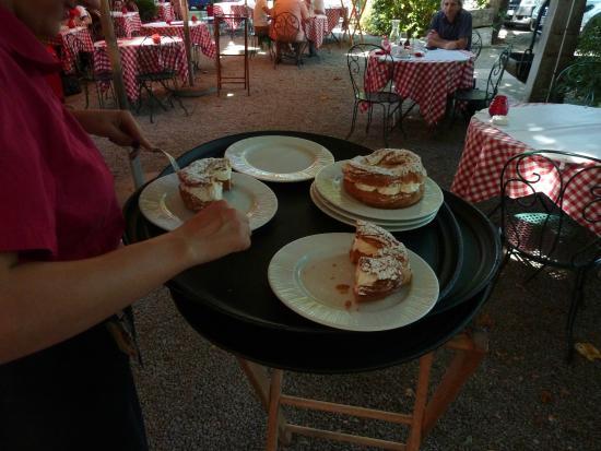 dessert picture of bistrot de port lesney port lesney tripadvisor