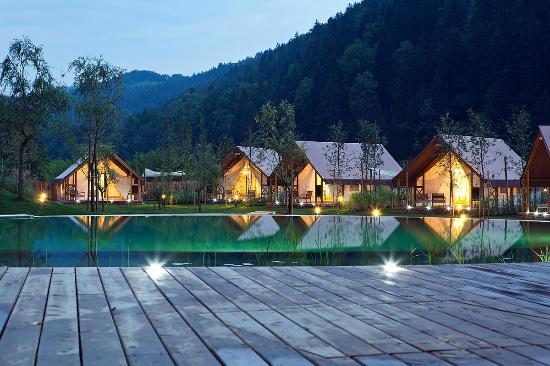 Herbal glamping resort Ljubno - glamping tents