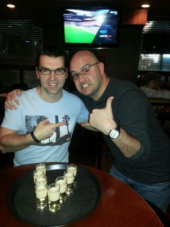 Traveler's Bar & Grill: Talk about great times,  with a great best friend.  To you Jason Cresswell