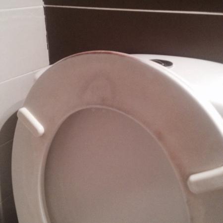 Hotel Oxo : Manque de propreté