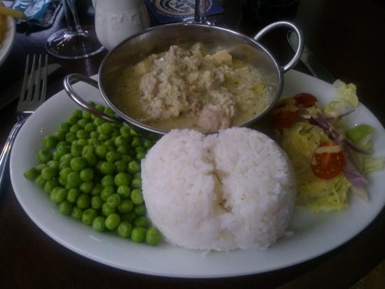 The Craigdarroch Inn: Thai Green Curry