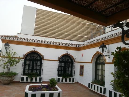 Exe Sevilla Macarena: Acceso piscina de la terraza