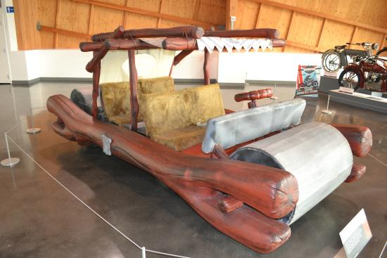 Flintstones car  Picture of LeMay  Americas Car Museum Tacoma
