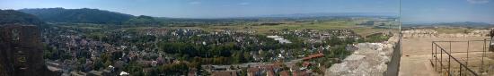 Staufen, Niemcy: Panoramabild von Schlossberg