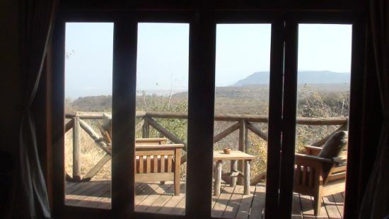 Escarpment Luxury Lodge: Vistas da suite