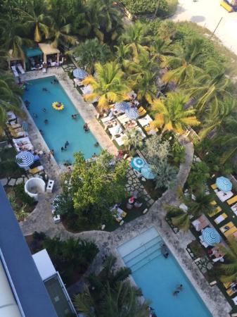 The Confidante Miami Beach Thompson View From Grand Balcony Room