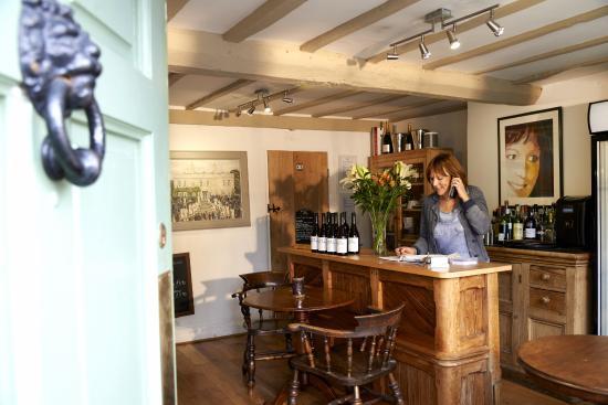 Wheelgate House Bed & Breakfast: Reception